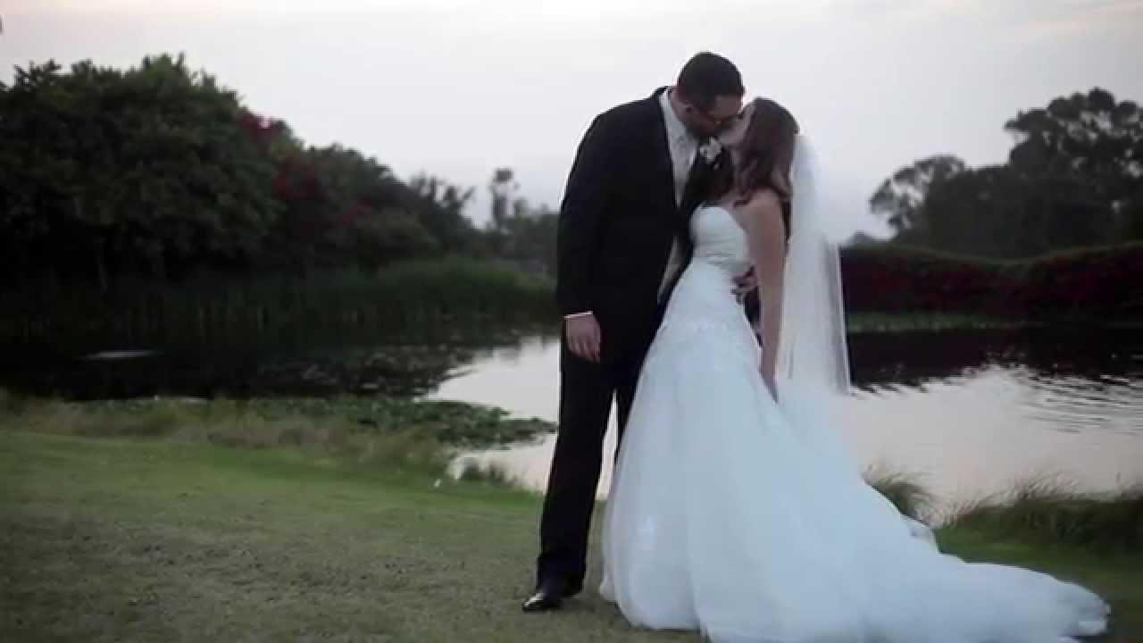 Palos Verdes Golf Club Wedding Video Derek Sara