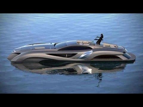 12 Extravagant Luxury Yachts
