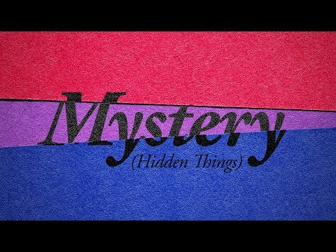 Mystery (Hidden Things) Lyric Video — VOUS Worship