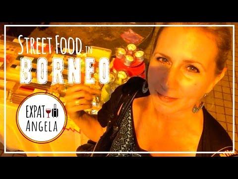 Borneo Night Market | Miri Wireless Walk STREET FOOD  | Malaysia Food Blogger