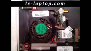 Disassembly HP Pavilion dv2 - replacement, clean, take apart, keyboard, screen, battery