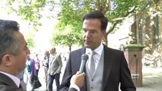Hollanda basbakanimiz Mark Rutte ve Basri Dogan
