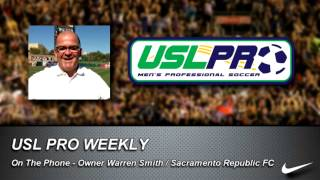 USL PRO Weekly -- Warren Smith, Sacramento Republic FC