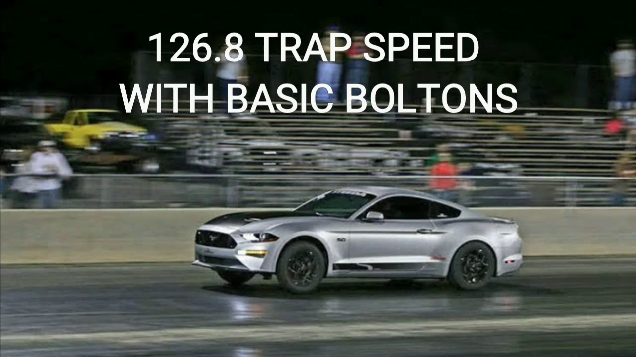 Current record holder10 71 2018 mustang gt quarter mile pass 10 96