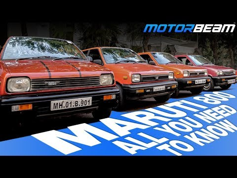 History Of Maruti 800 - India's Legendary Car | MotorBeam