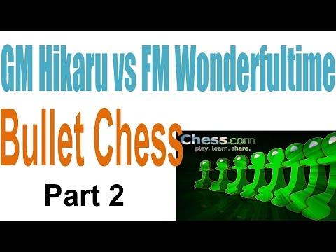 ♚ GM Hikaru Nakamura vs FM Minh Le Bullet Chess ♚ Chess com Part 2