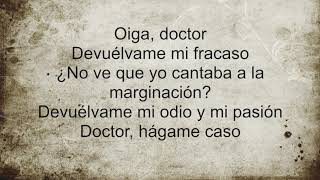 """Karaoke Joaquin Sabina""""""""Oiga Doctor""""Versión de Paco Garcia"""
