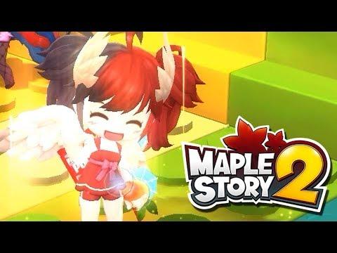 MapleStory2 Global Mini Games Are Fun