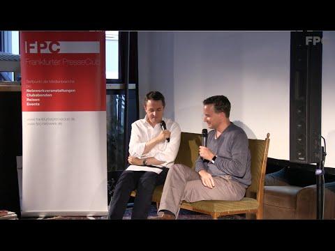 Frankfurter PresseClub Netzwerkveranstaltung mit Richard Gutjahr