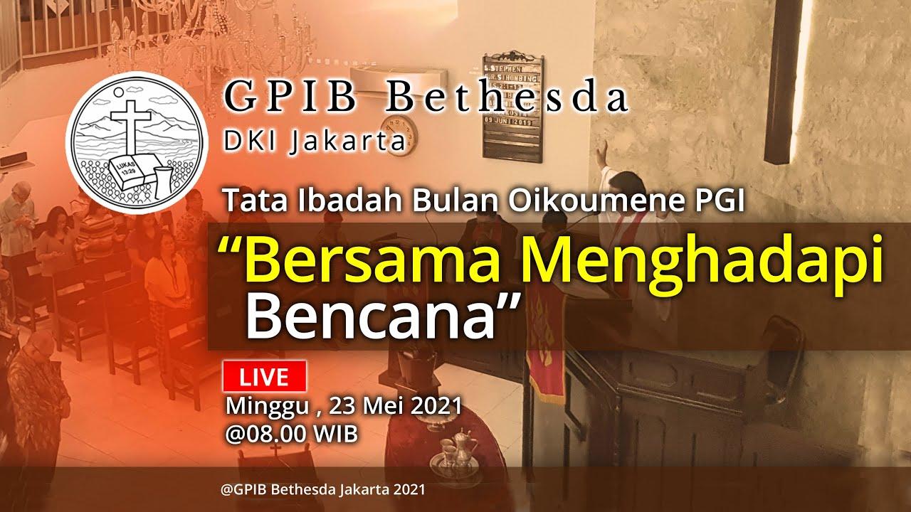 Ibadah Bulan Oikoumene PGI (23 Mei 2021)
