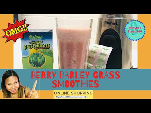 Berry Barley Smoothies