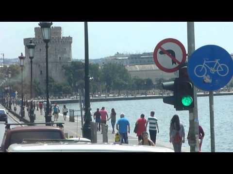 Seafront Tour Bus Drive / Leof. Nikis [Thessaloniki 2014][7]