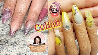 CREATING A NailPerfectionxo DESIGN USING HER FAVE COLOUR YELLOW COLLAB | IdleGirl