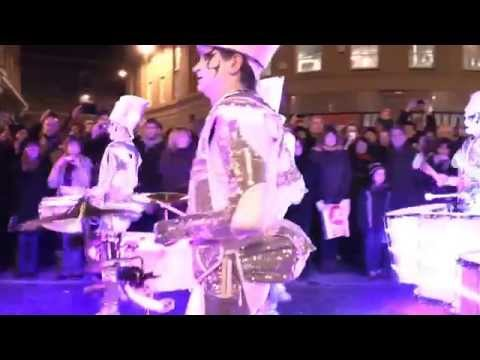 Mike Russ Entertainments UK Presents....Spark! LED Drummers