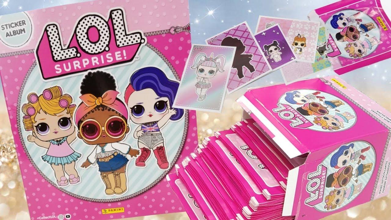 PANINI-l.o.l surprise! Sticker Nº 100