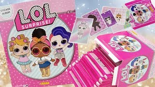 New LOL Surprise Sticker Album + Full Box of Sticker Packs | L.O.L. Stickers | Complete Sticker Book