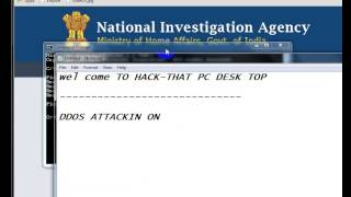 http://www.nia.gov.in/ web ddos attack on 18/3/015