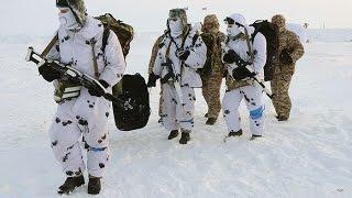 В Арктике проходят испытания российской военной техники