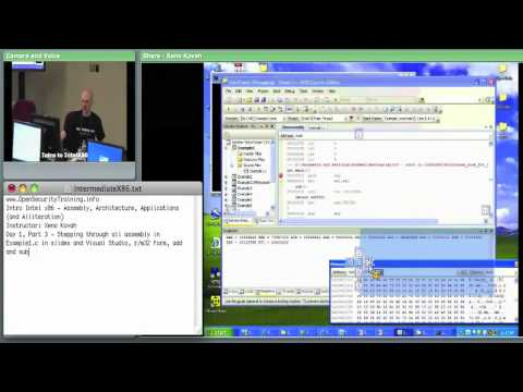 Day 1 Part 2: Introductory Intel x86: Architecture, Assembly, Applications