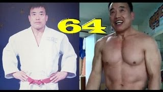 Strength of a 64 Yr Old Korean Judo Master