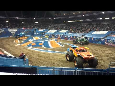 Monster jam Kansas city sprint center 2/5/16
