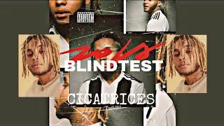 BLINDTEST - ALBUM CICATRICE DE ZOLA