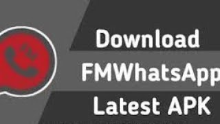 Gambar cover #mobile #techniques how to update fm whatsapp   || how to download fm whatsapp latest version