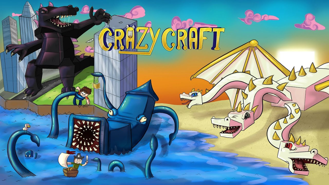 Crazy Craft   Server