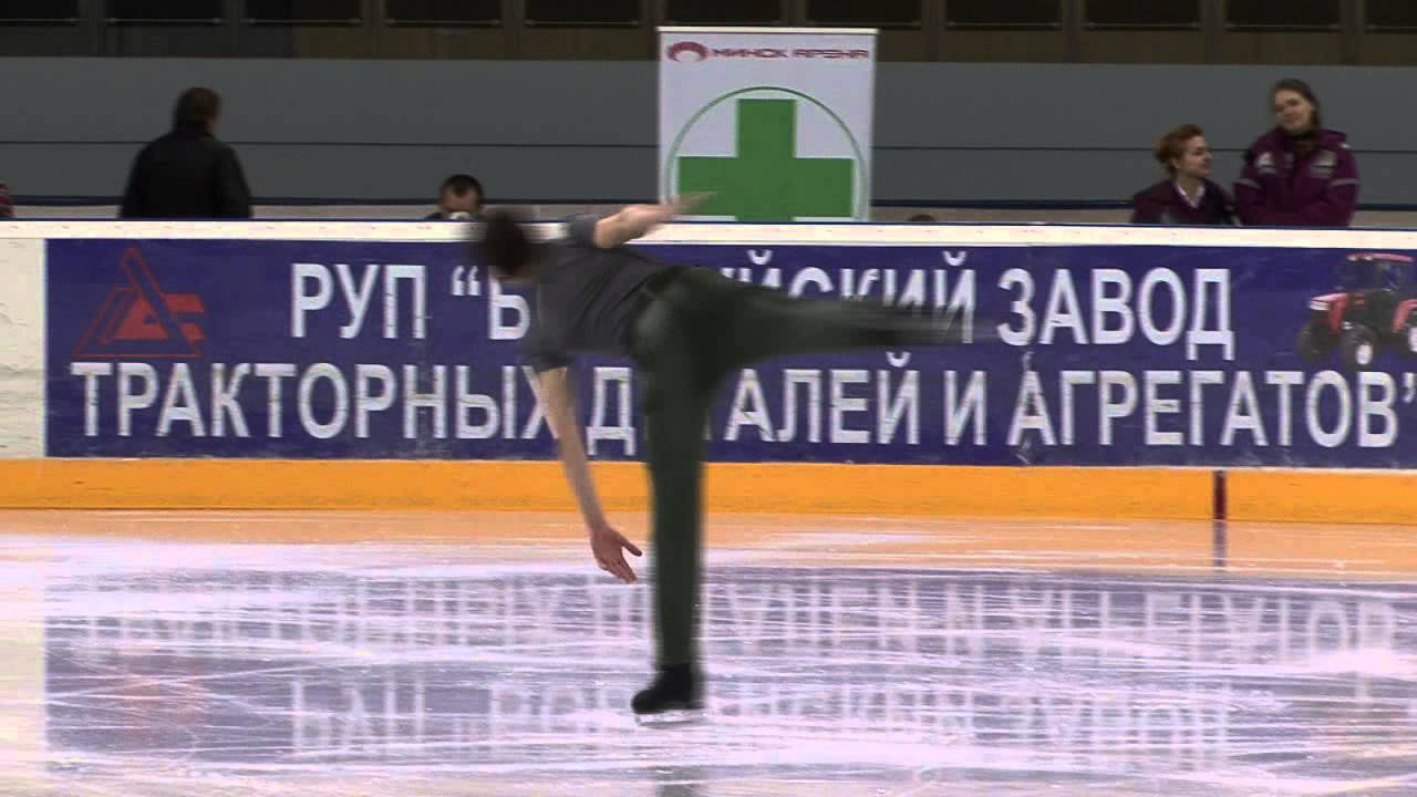 5 Osman AKGUN (TUR) - ISU JGP Minsk 2013 Junior Men Short Program