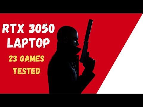 RTX 3050 LAPTOP GPU - Performance & Benchmark Test in 23 Games
