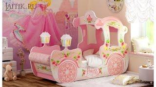 Детская кровать - карета для девочек. Детская мебель. Интернет-магазин