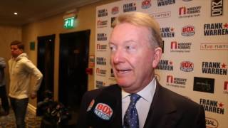 FRANK WARREN TALKS BILLY JOE SAUNDERS, KLITSCHKO, UPDATE ON TYSON FURY, DAVID HAYE & WBA SITUATION