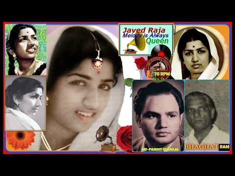 LATA JI-Film-AADHI RAAT-{1950}(4 Songs)-(1.Hamein Duniya,(2.Banke Suhagan,(3.Dil Hi To,(4.Rona Hi-