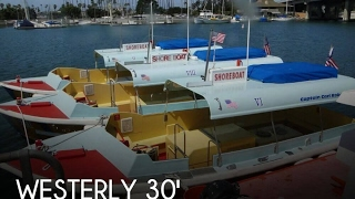 [SOLD] Used 1988 Westerly Marine Custom 30' Water Taxi in Long Beach, California