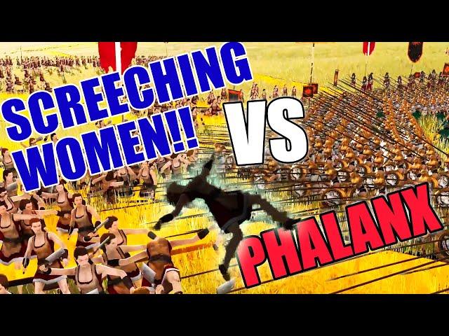ROME RETURNS: German Screeching Women vs Phalanx