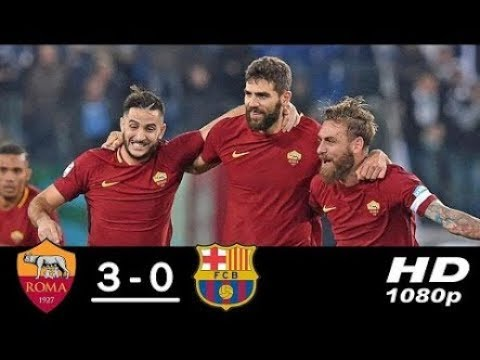 Roma vs Barcelona 3-0 All Goals & Highlights 10-04-2018 HD