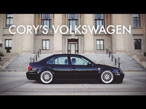 Cory's Bagged Volkswagen Jetta - YouTube