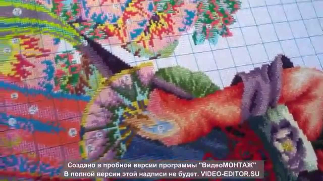 Скачать схему вышивки 12 красавиц