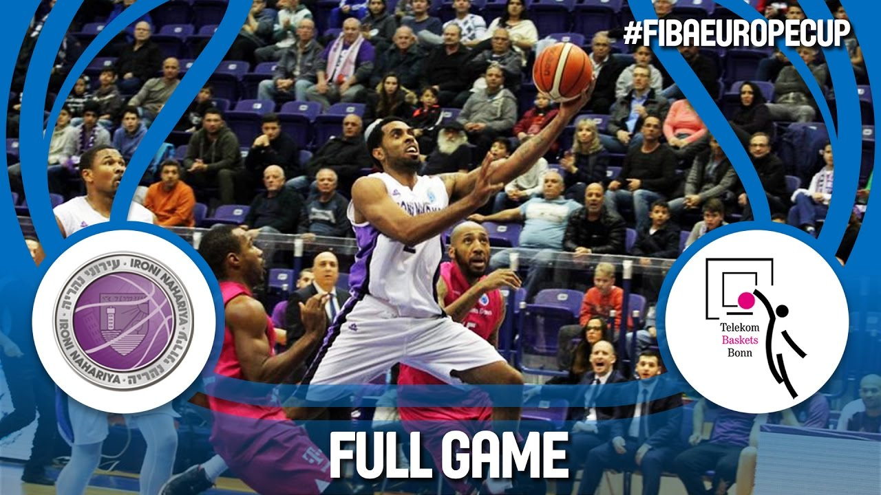 Re-watch: Ironi Nahariya (ISR) v Telekom Baskets (GER) - Quarter-Final