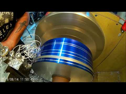 Repeat ATV Flail Mower part 6 Machining The Pulleys by