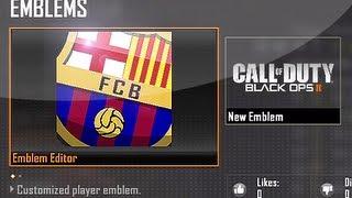 Bo2 emblem attack - barcelona badge! | by ed qjap