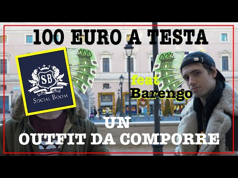OUTFIT CHALLENGE CON 100 EURO DI BUDGET FEAT BARENGO A ROMA [VIDEO SPECIALE]