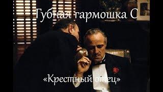 """Губная гармошка С, к\ф  """"Крестный отец"""", табы + минусовка"""