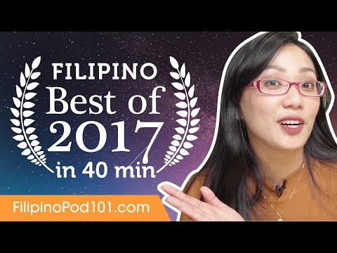 Learn Filipino in 40 minutes - The Best of 2017