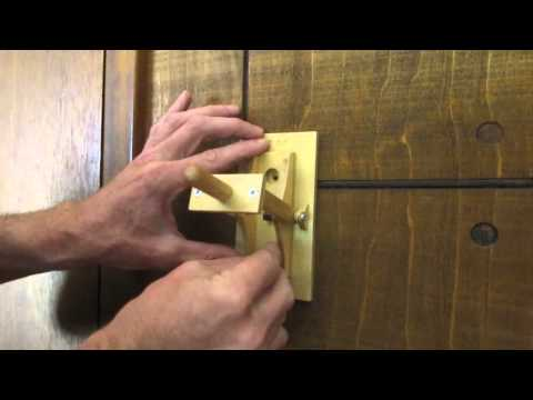 Mechanical Knife Switch Plate Cover Installation and Use.