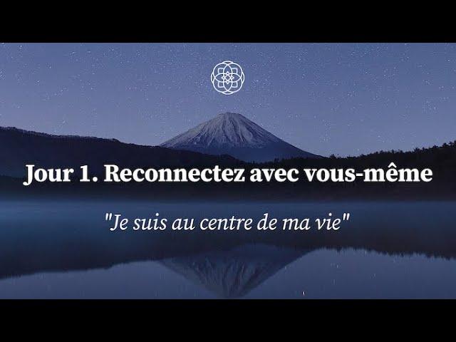 Méditation pour vous reconnecter à vous-même - YouTube