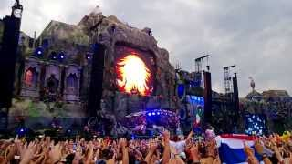 Tomorrowland 2013 - Axwell playing: 'In My Mind' (Axwell remix) Sitdown