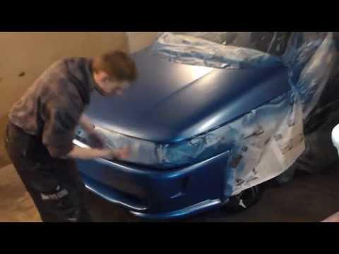 Подготовка и покраска бампера и капота ВАЗ 2110 № 29