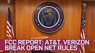 FCC: AT&T and Verizon's free data programs violate net neutrality rules