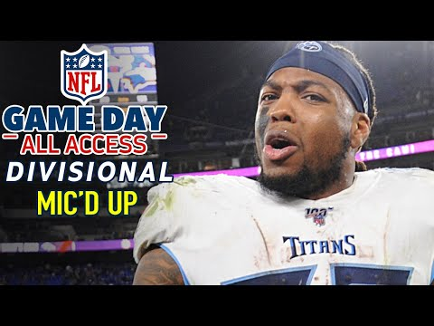 """NFL Divisional Round Mic'd Up, """"Lets do something special they're already counting us out!"""""""